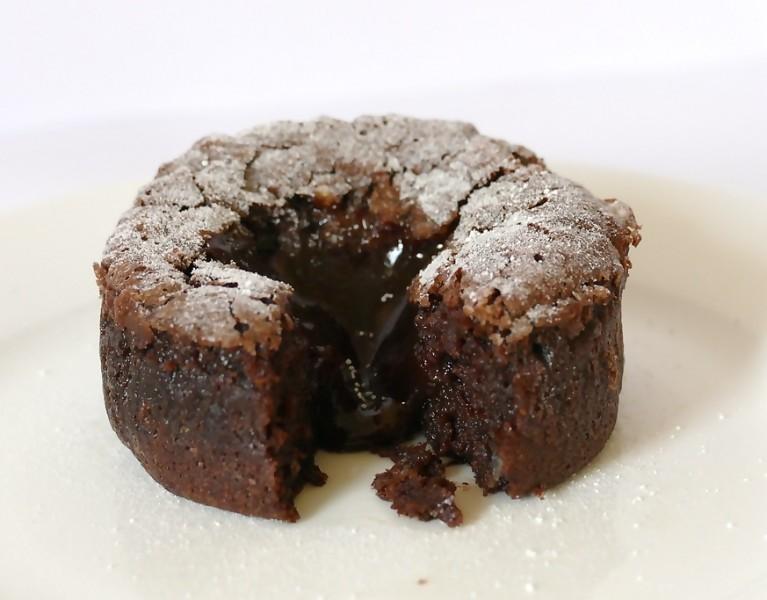 Recept: de allerlekkerste chocolade lava cake!
