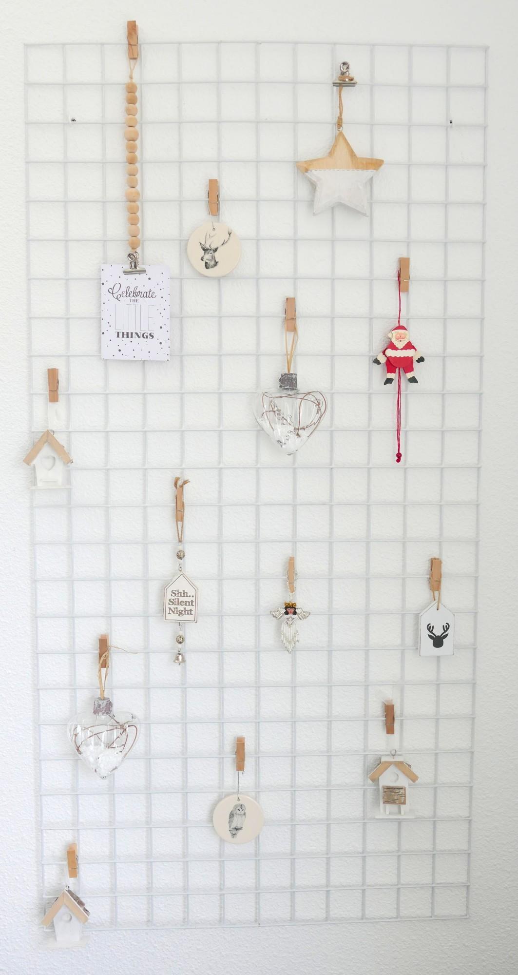 DIY wandrek + kerst/winter decoraties - Sillysis