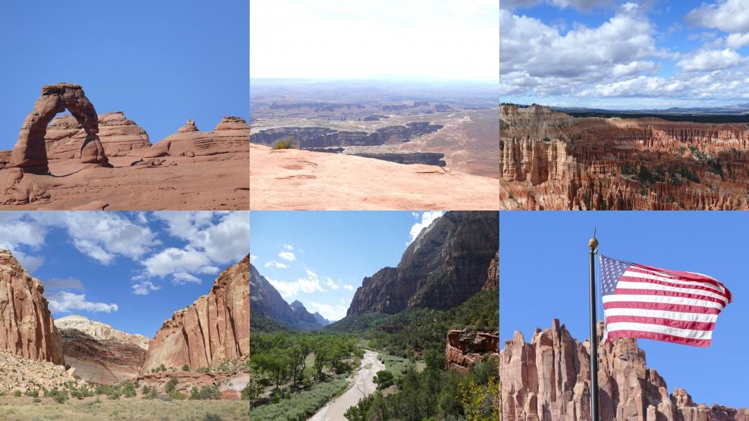 West-Amerika: de mooiste Nationale Parken