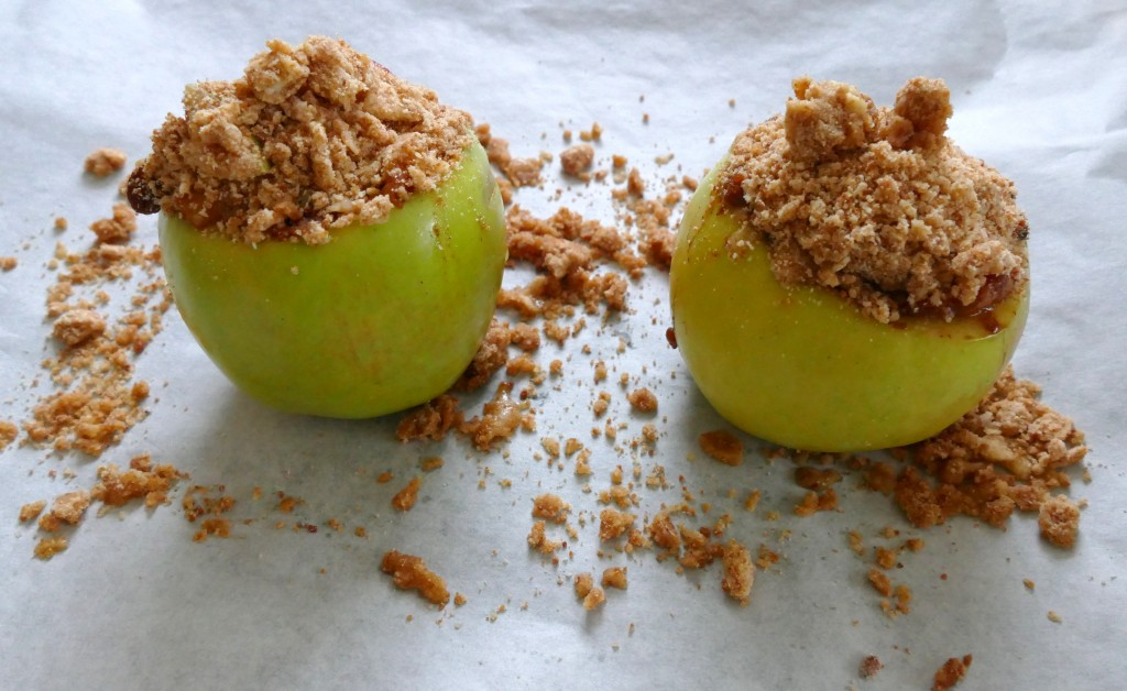 Suikervrij appelkruimeltaartje
