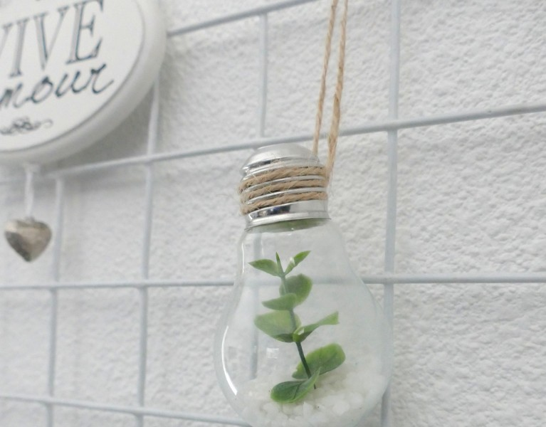 lightbulb terrarium DIY