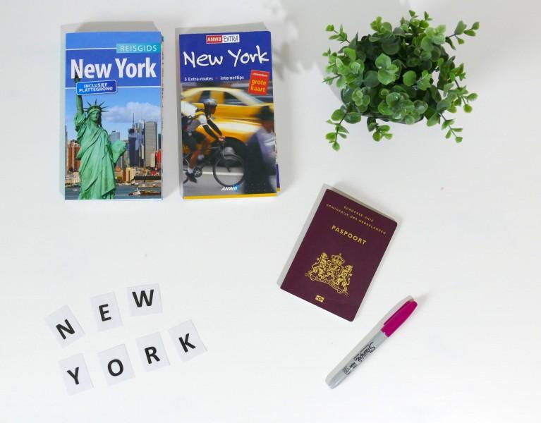 wij gaan naar New York
