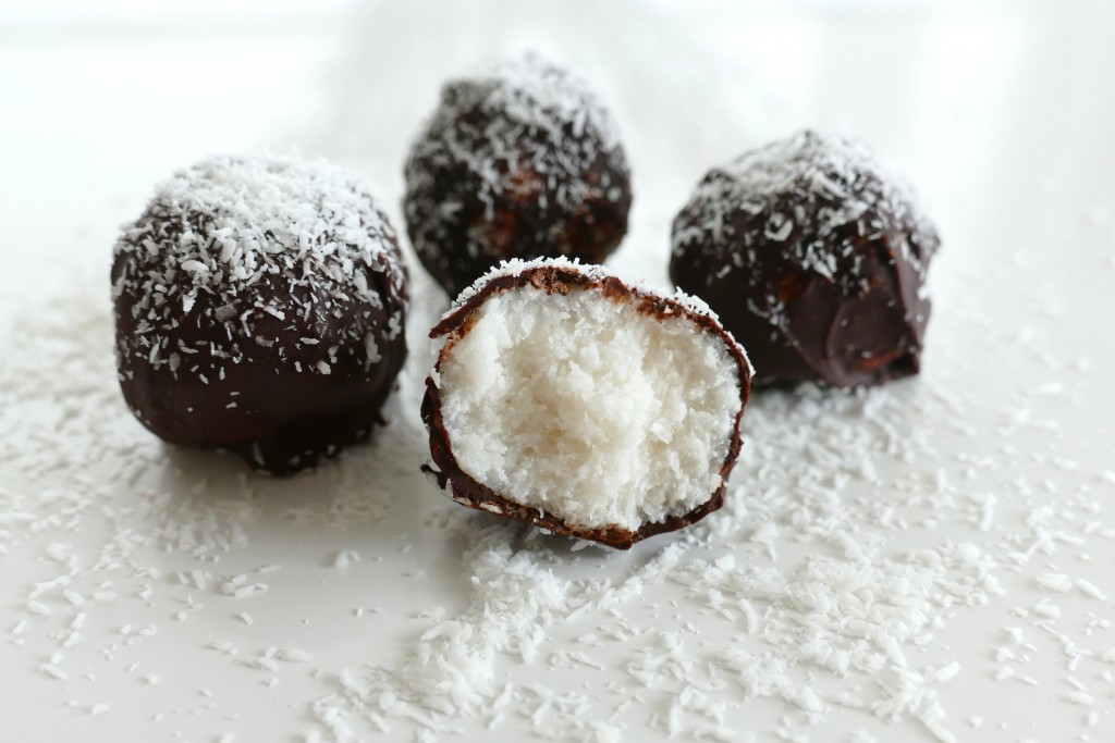 kokosballetjes met chocolade 3