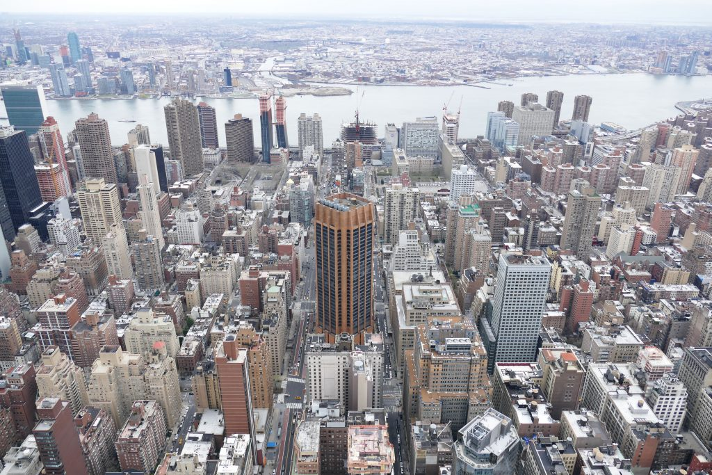 New York: empire state building