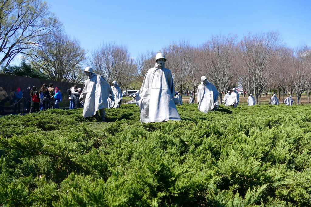 Washington Korean War Memorial