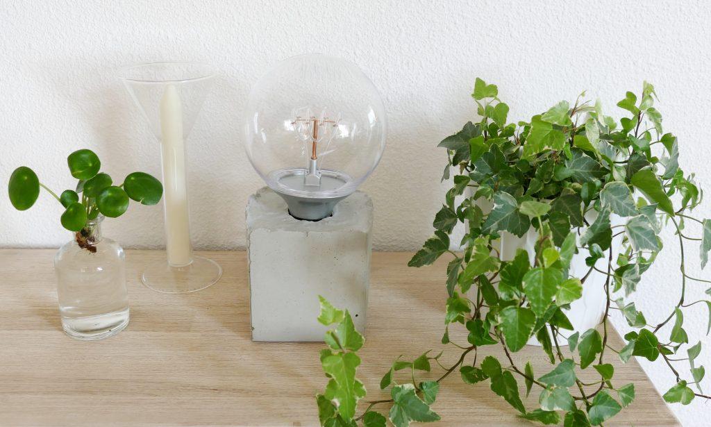 tafellamp beton