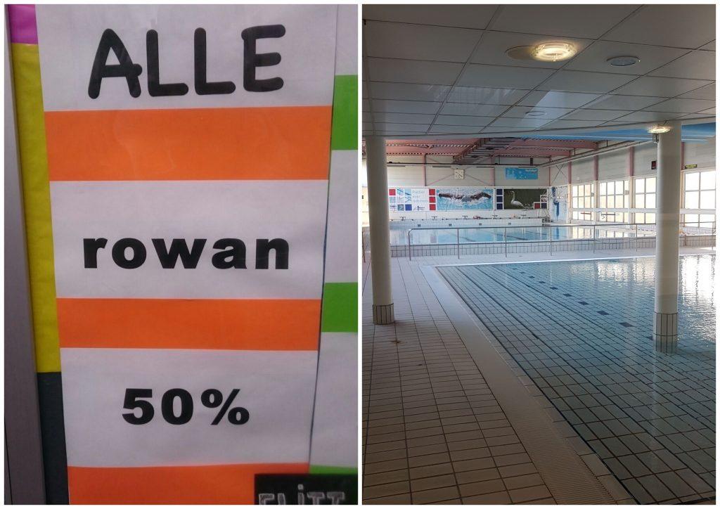 In april zijn mijn vriend en ik begonnen met baantjes zwemmen. Het is niet alleen heel erg fijn om te doen maar ook nog eens heel gezellig!
