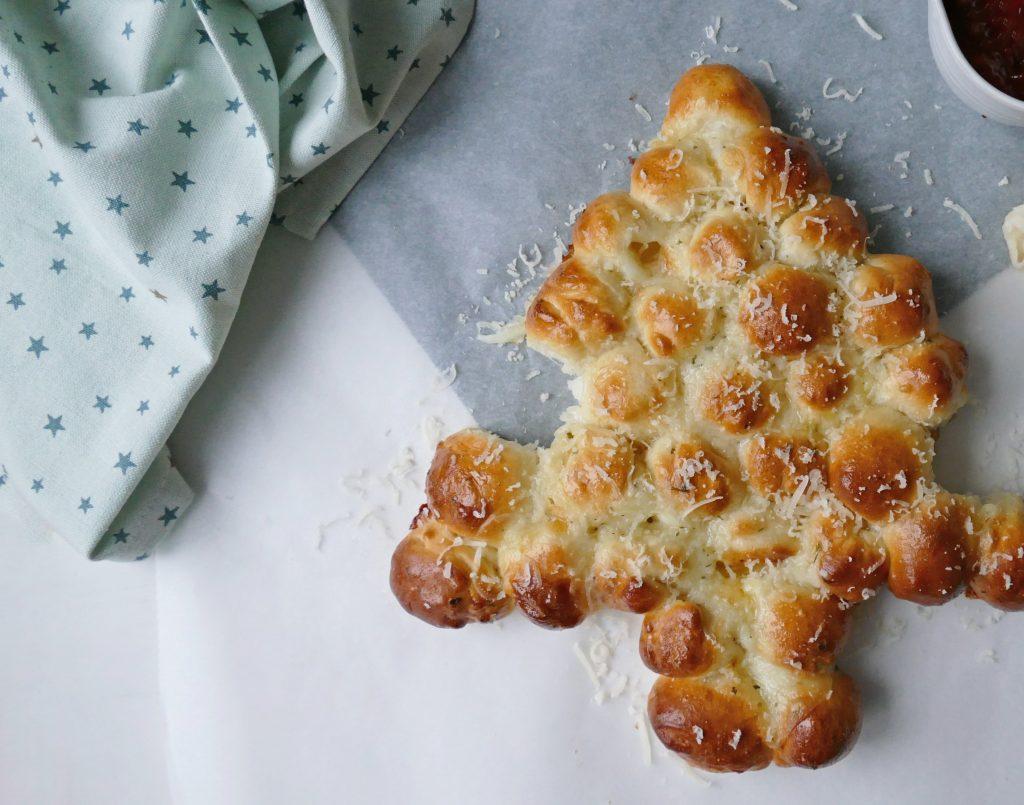 Kerstboom breekbrood