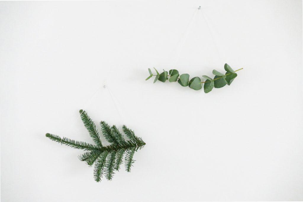 minimalistische kersthanger