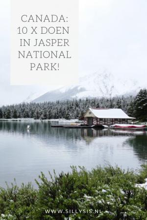 Canada 10 x doen in Jasper National Park