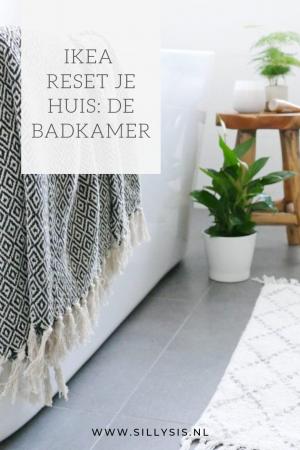 Ikea reset je huis de badkamer