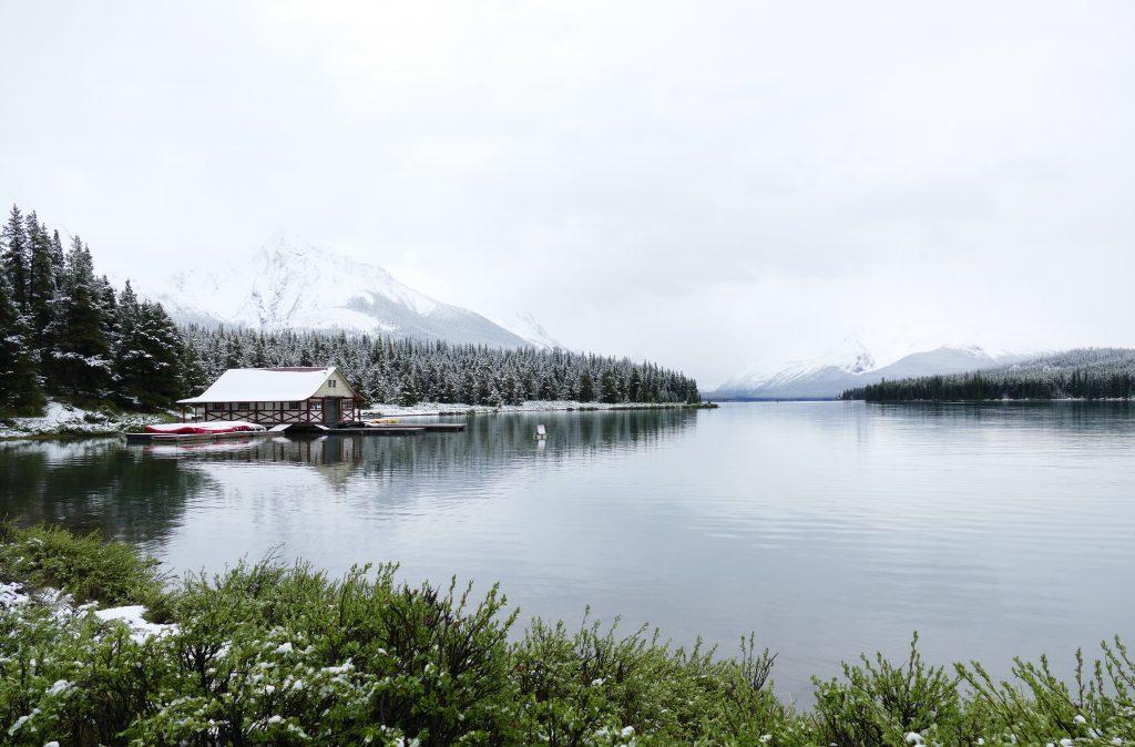 Canadese Rockies: Jasper National Park, Maligne Lake
