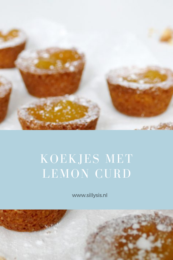 koekjes met lemon curd Pinterest