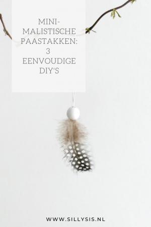 Minimalistische paastakken | 3 eenvoudige DIY's
