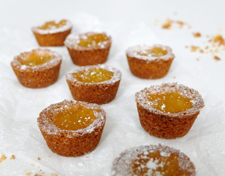 koekjes met lemon curd