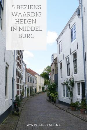 Bezienswaardigheden in het centrum van Middelburg
