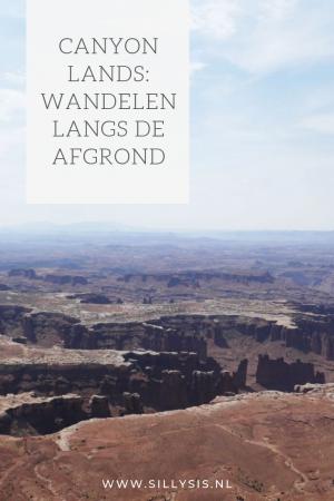 Canyonlands: wandelen langs de afgrond