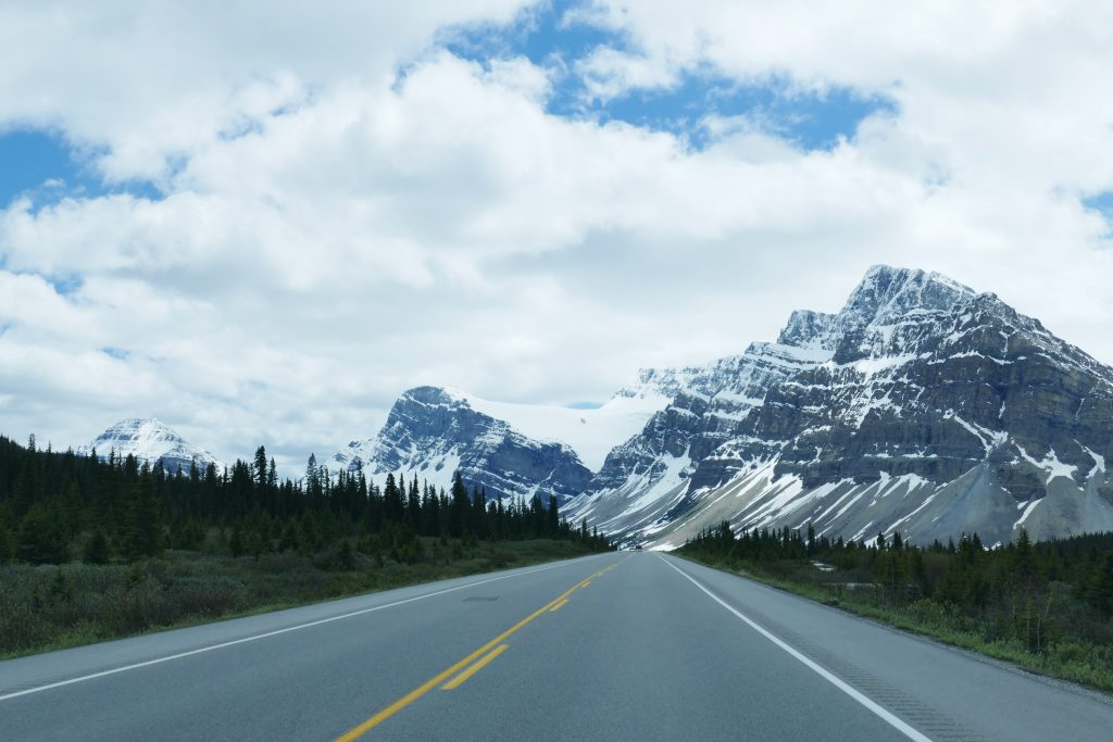 West-Canada: Icefields Parkway