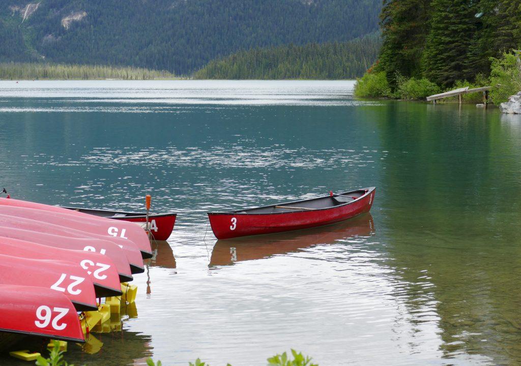 Banff National Park- Huur een kano