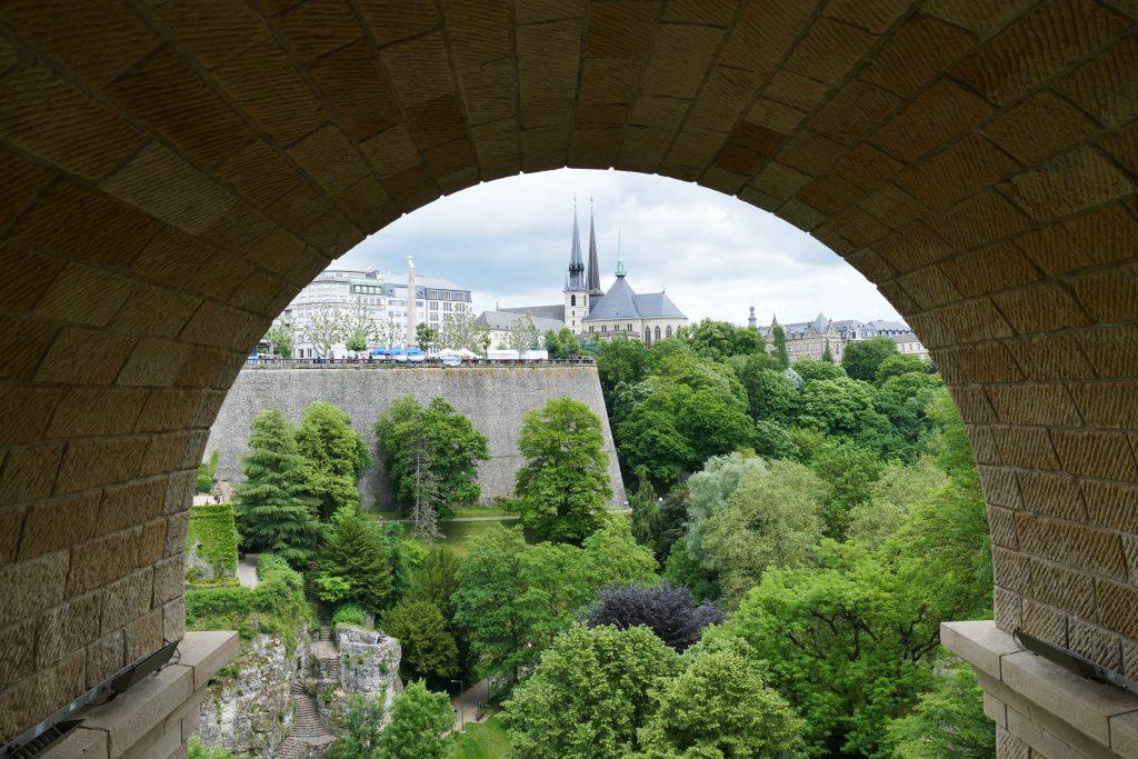 Pont Adolphe, Luxemburg Stad