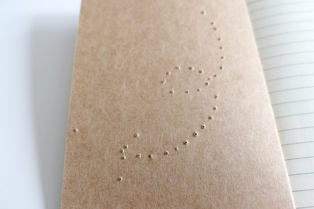 Geborduurde notitieboekjes