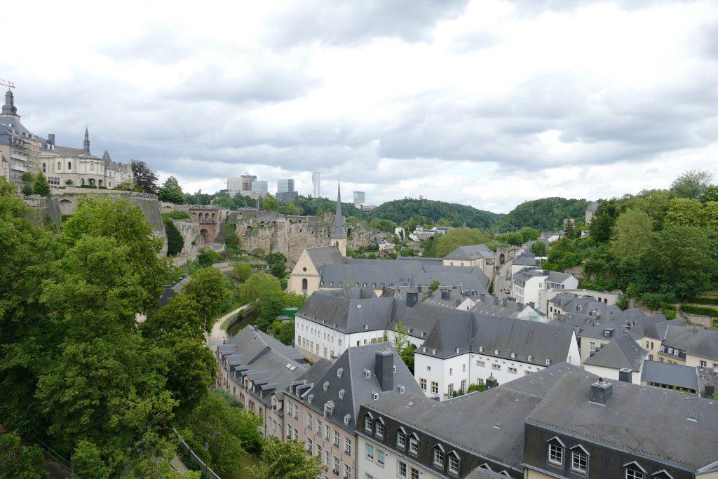 Chemin de la Corniche, Luxemburg Stad