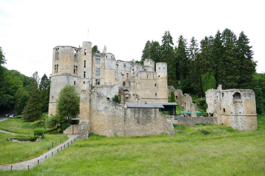 Kastelen van Luxemburg.Kasteel van Beaufort