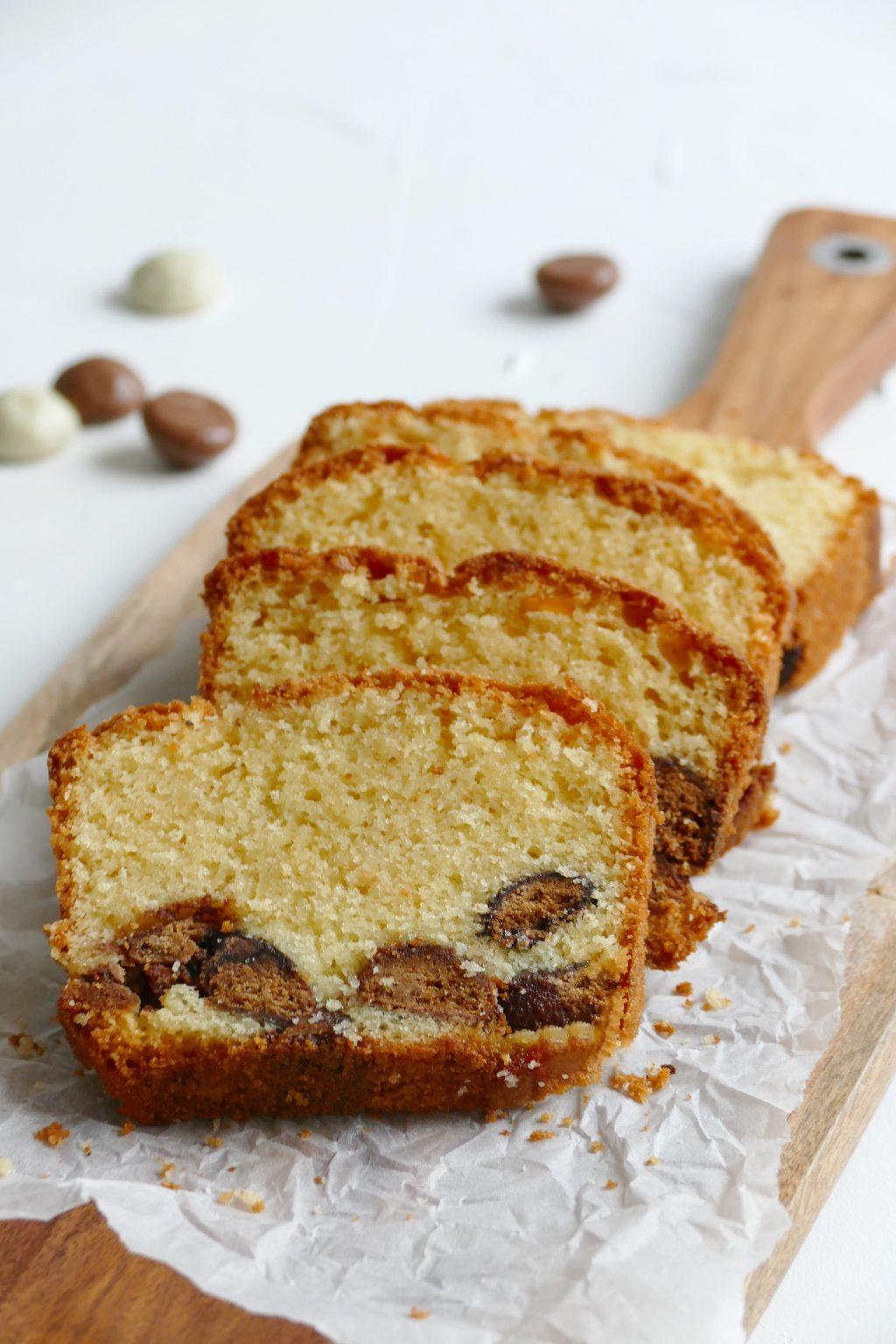 Vanille cake met pepernoten