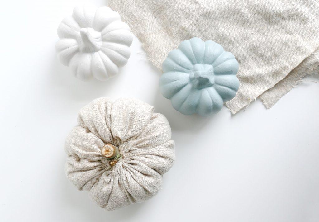 pompoenen van stof