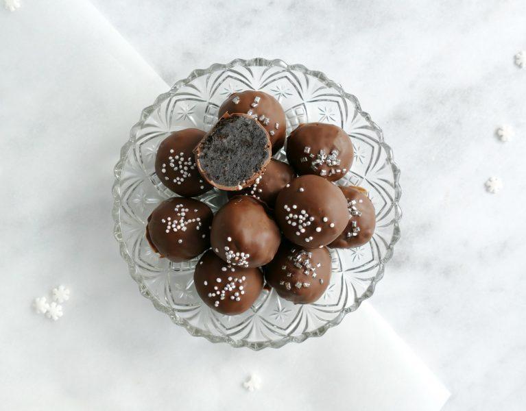 feestelijke Oreo truffels