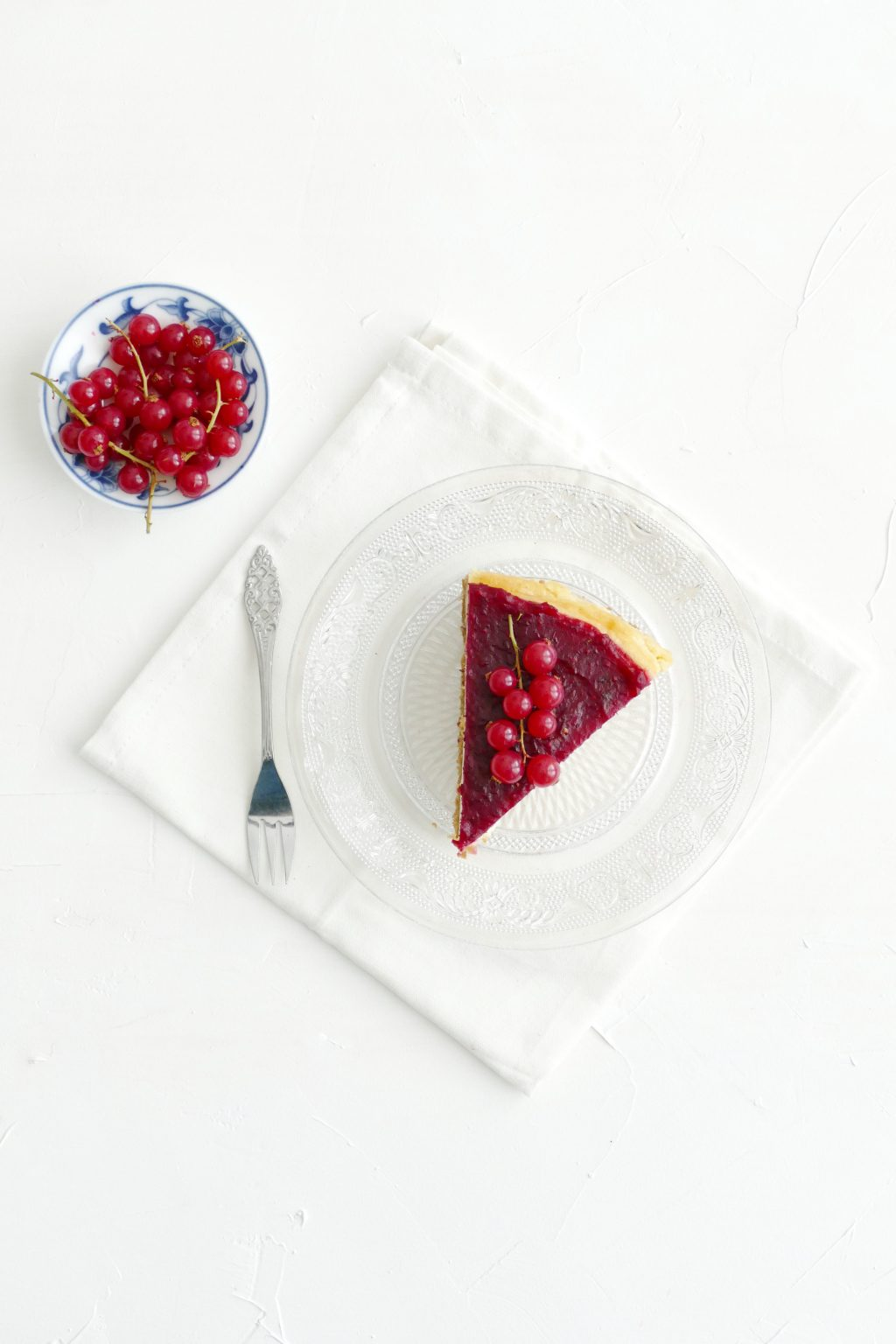 vanille cheesecake met cranberry