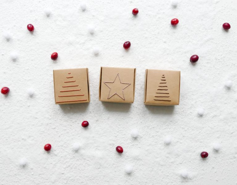Geborduurde kerst cadeaudoosjes9