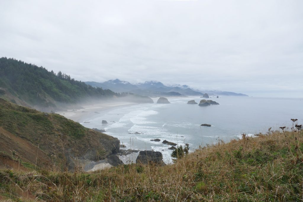 De kust van Oregon