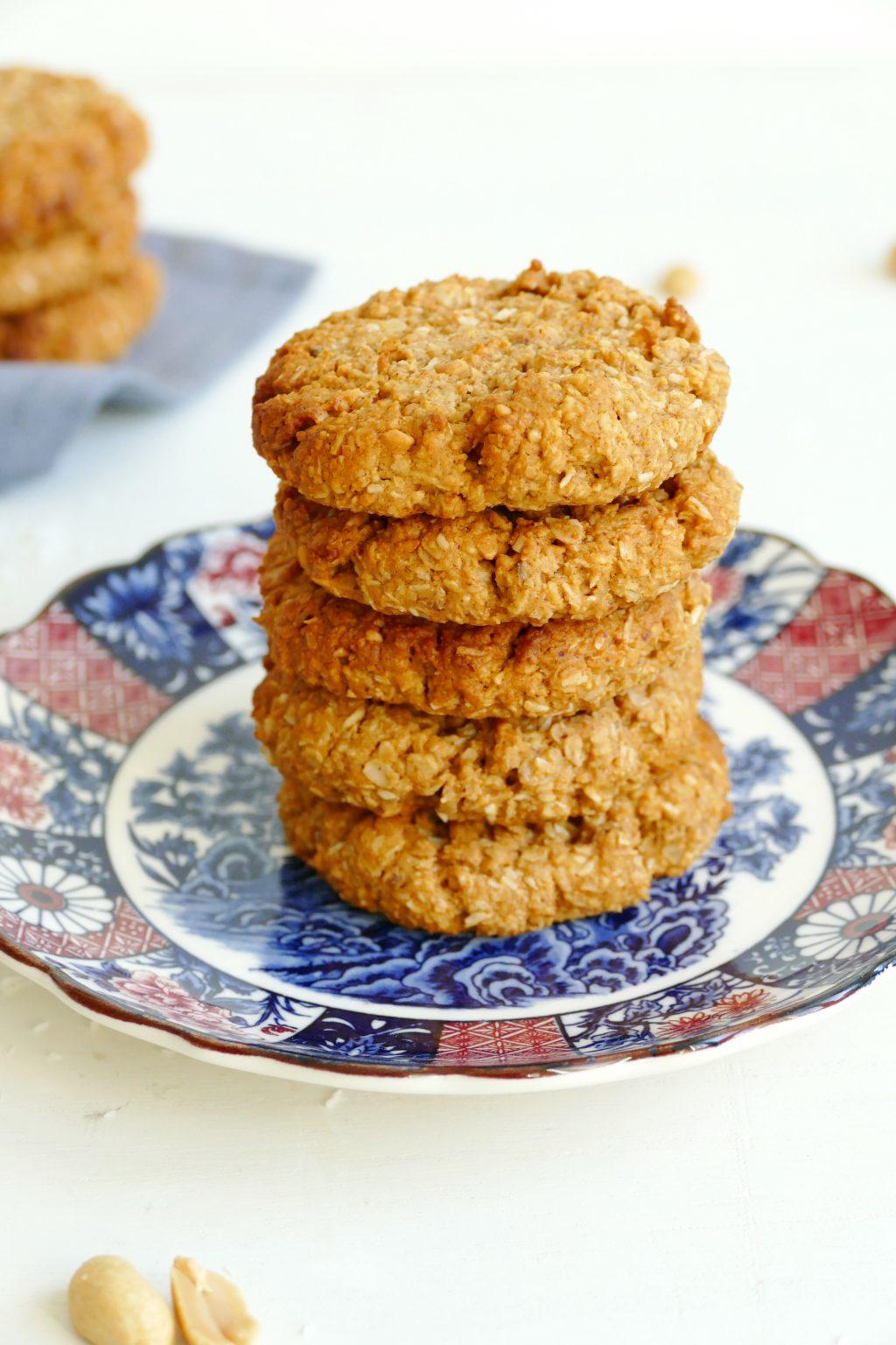 Kokos pindakaas koekjes
