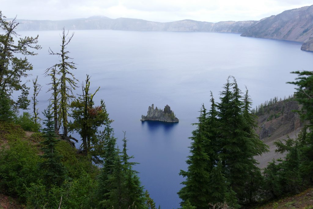 Phantom Ship Island - Crater Lake National Park