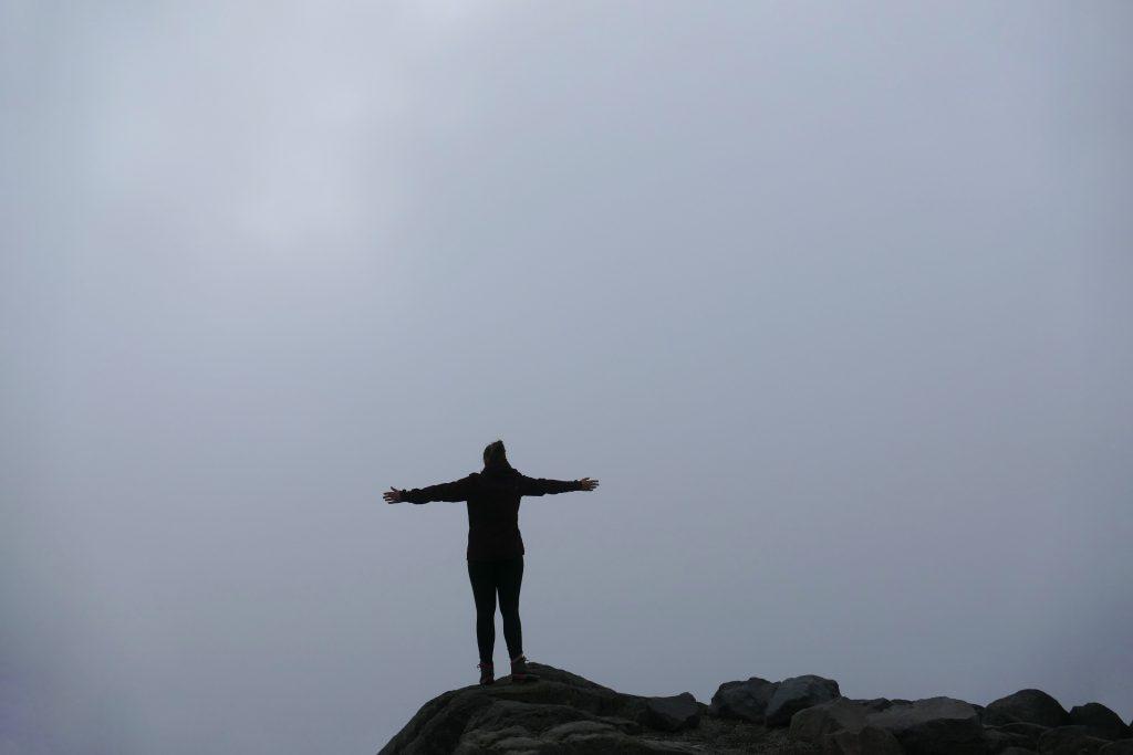 Travel fails: Geen uitzicht op Mount Rainier.