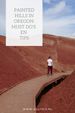 Reizen: Painted Hills in Oregon