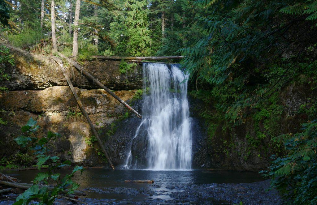 Silver Falls State Park: Upper North Falls