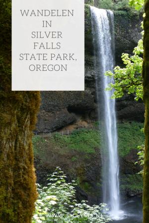 Reizen: Wandelen in Silver Falls State Park, Oregon/ Amerika