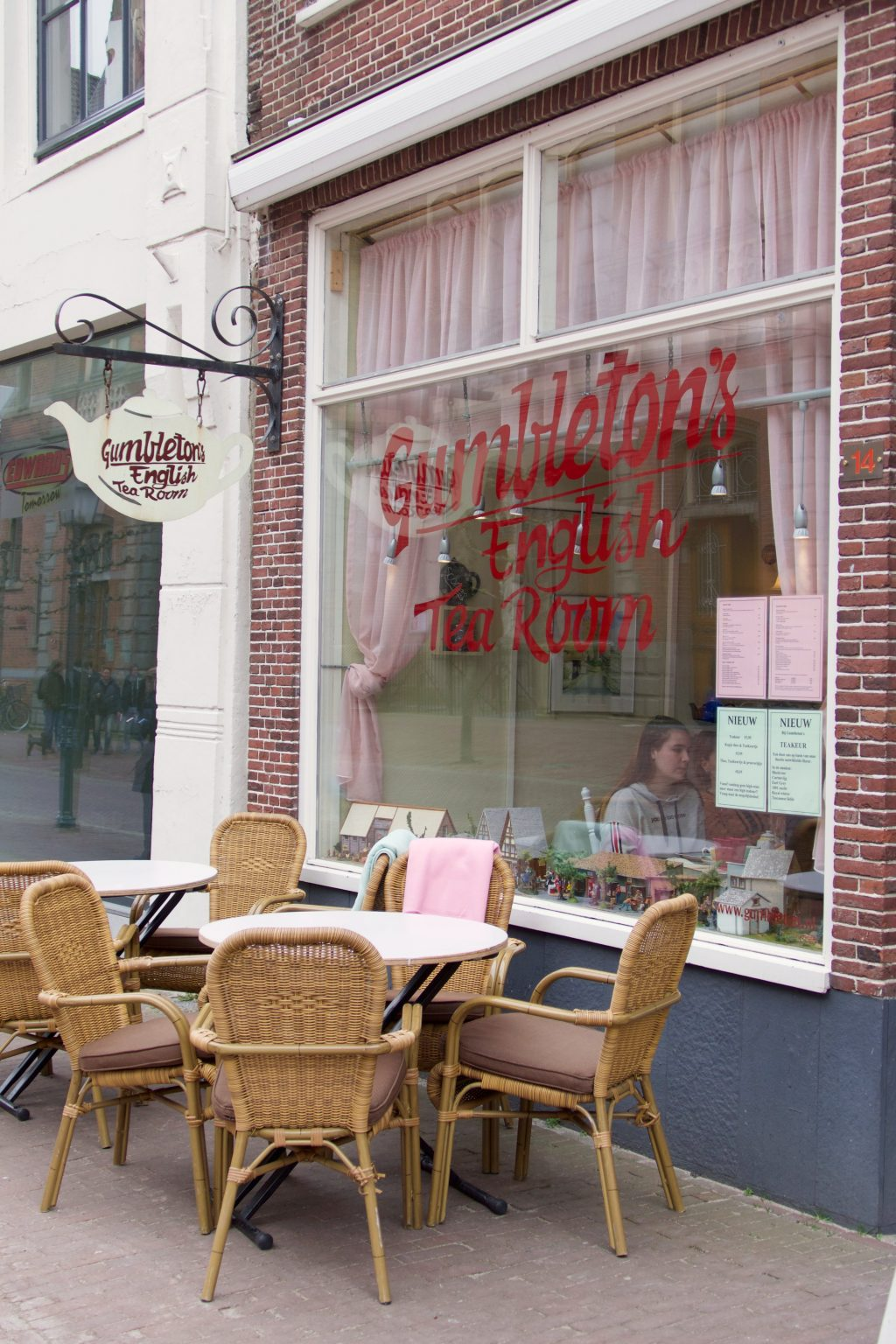 Hotspot: Gumbleton's Tea Room in Hoorn