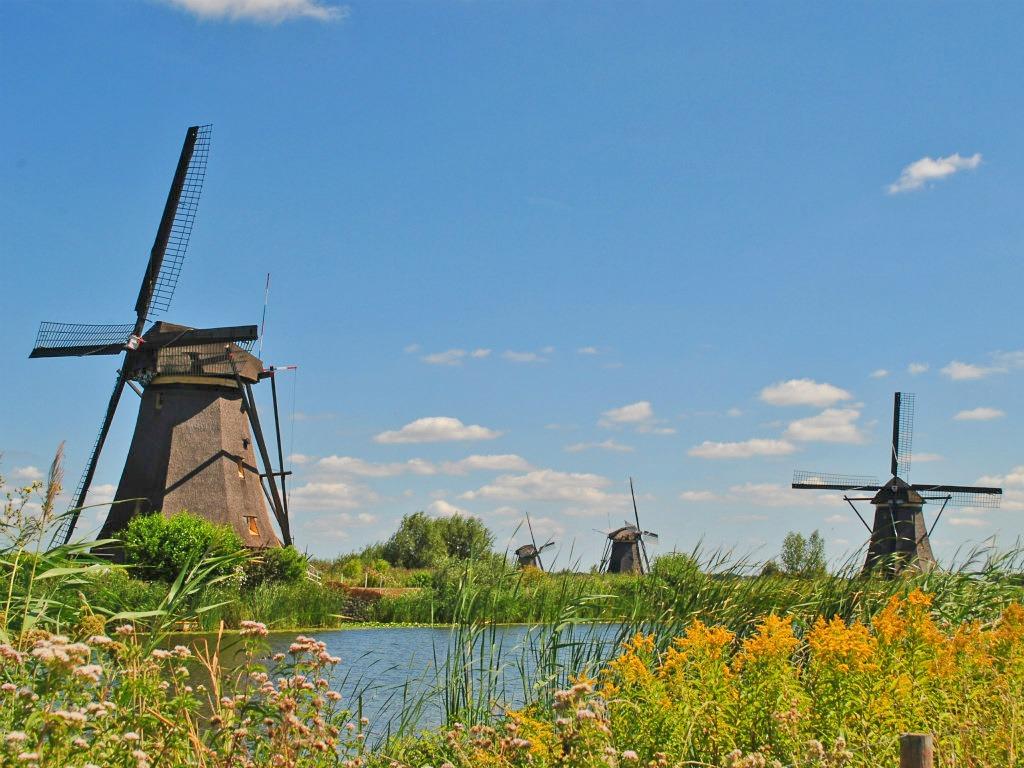 Mooie plekken in Nederland die ik nog wil bezoeken: Kinderdijk