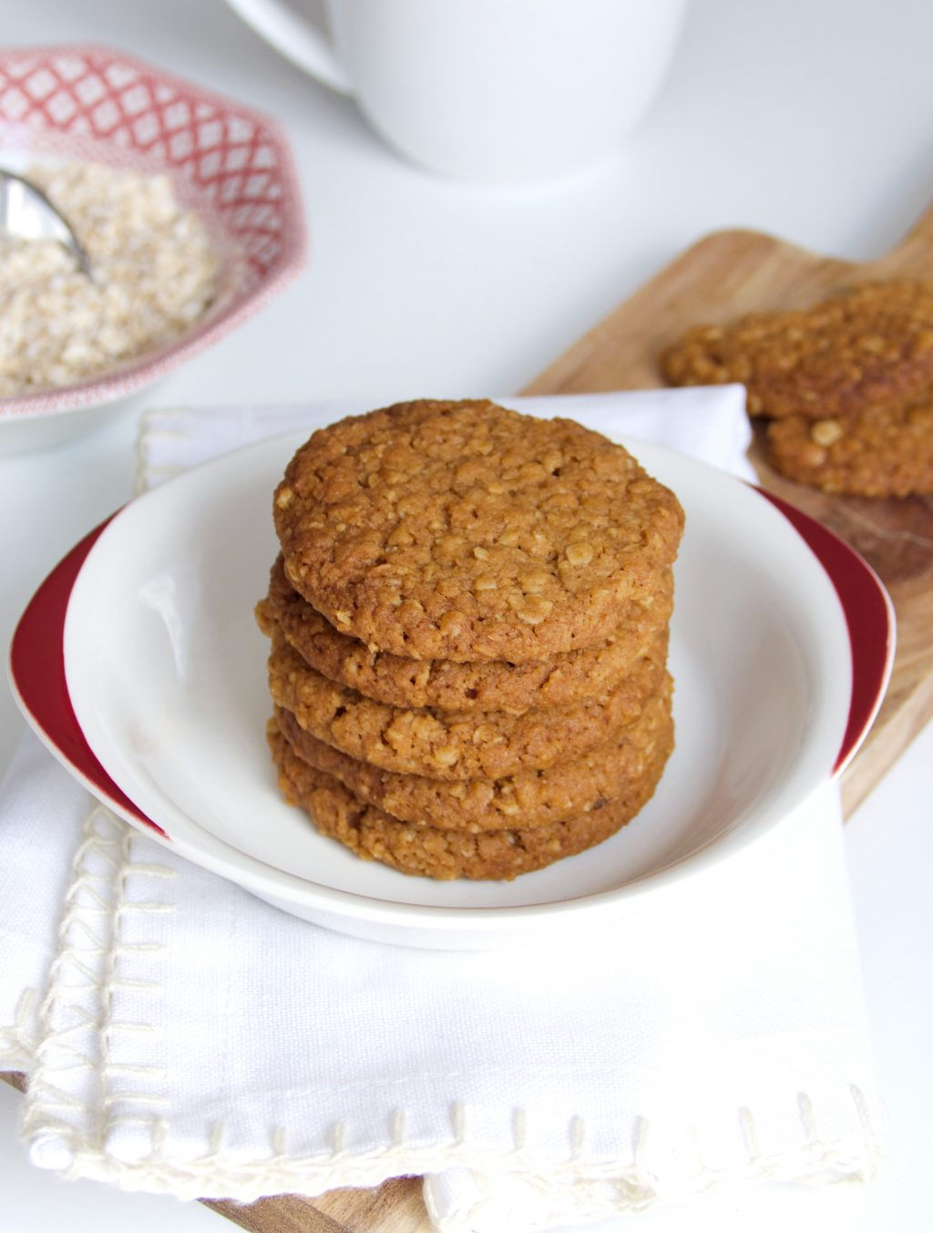 Klassieke havermout koekjes
