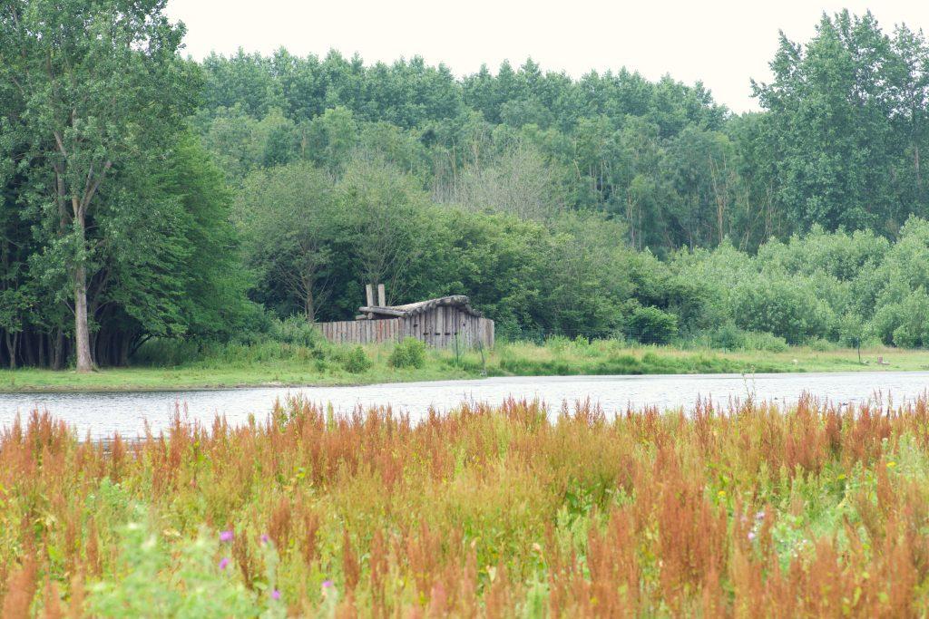 Vogelkijkhut in de Stille Kern (Zeewolde, Flevoland)