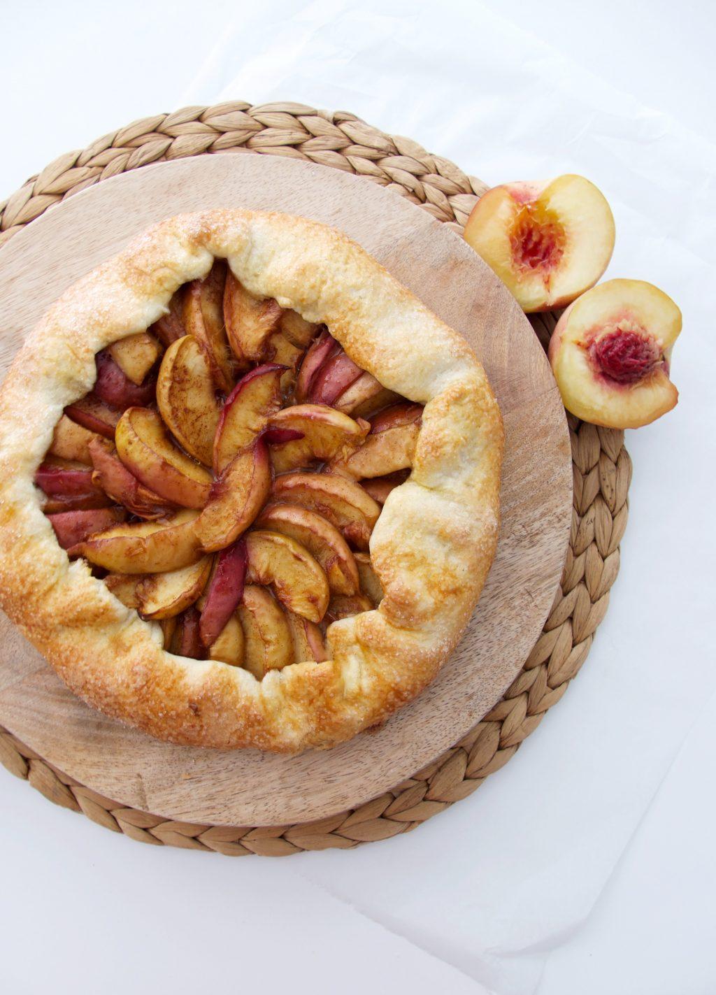 Galette met perzik | een heerlijk zomers dessert