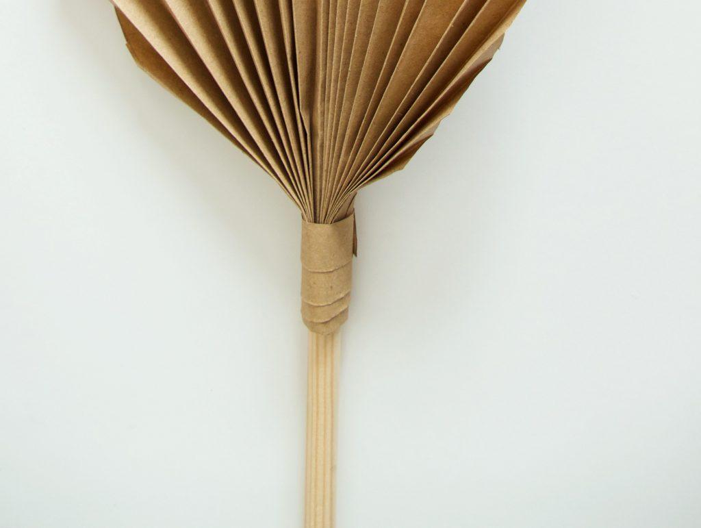 DIY: Palmblad van papier