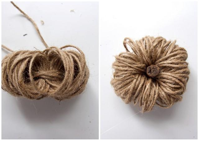 Zo maak je een pompoen van touw