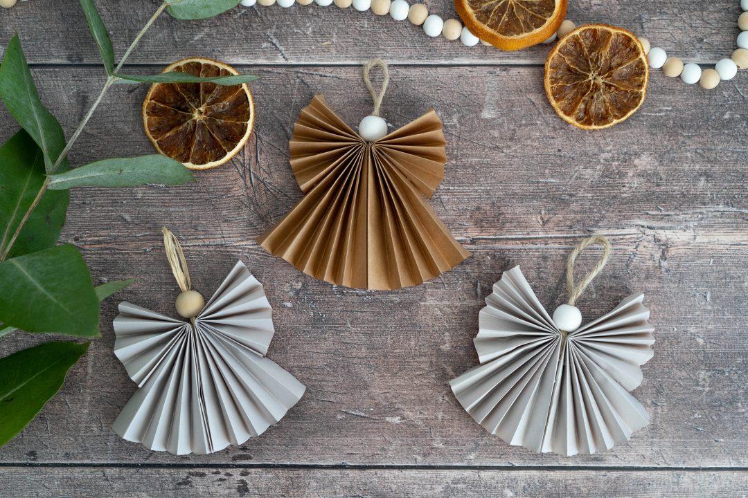 DIY - engeltjes van papier