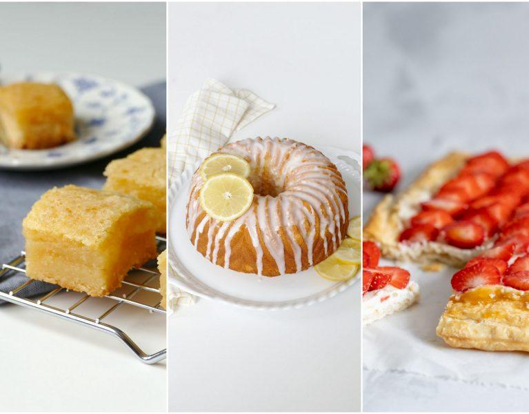 Desserts met een vleugje citroen of limoen